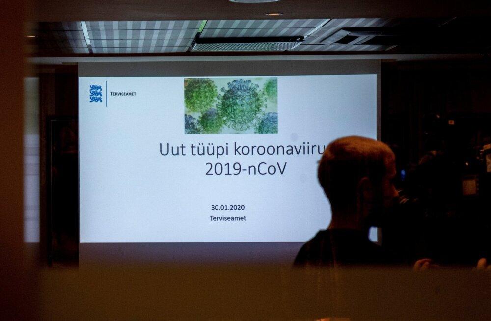 Terviseamet saatis sadadele tuhandetele eestlastele hoiatava kirja koroonaviiruse kohta