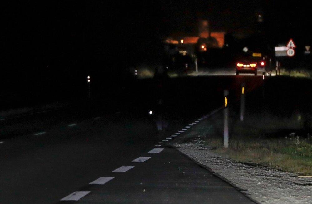 Helkuritest maanteel