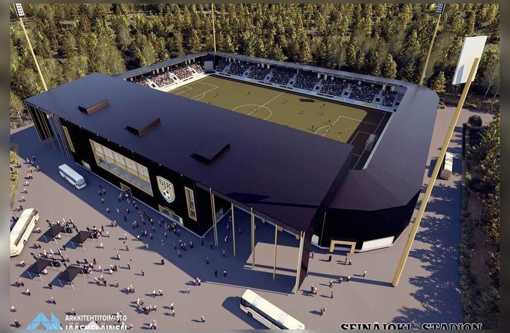 Tänapäeva muinaslugu Seinäjokist - ehk kuidas 60 000 elanikuga Soome väikelinn Euroopa jalgpalli suurimale areenile trügib