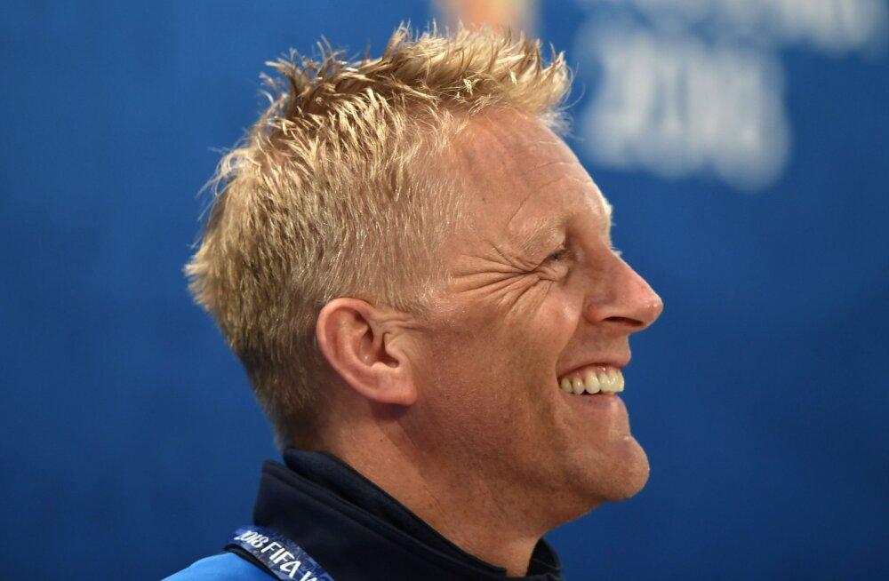 Islandi peatreener Heimir Hallgrimsson