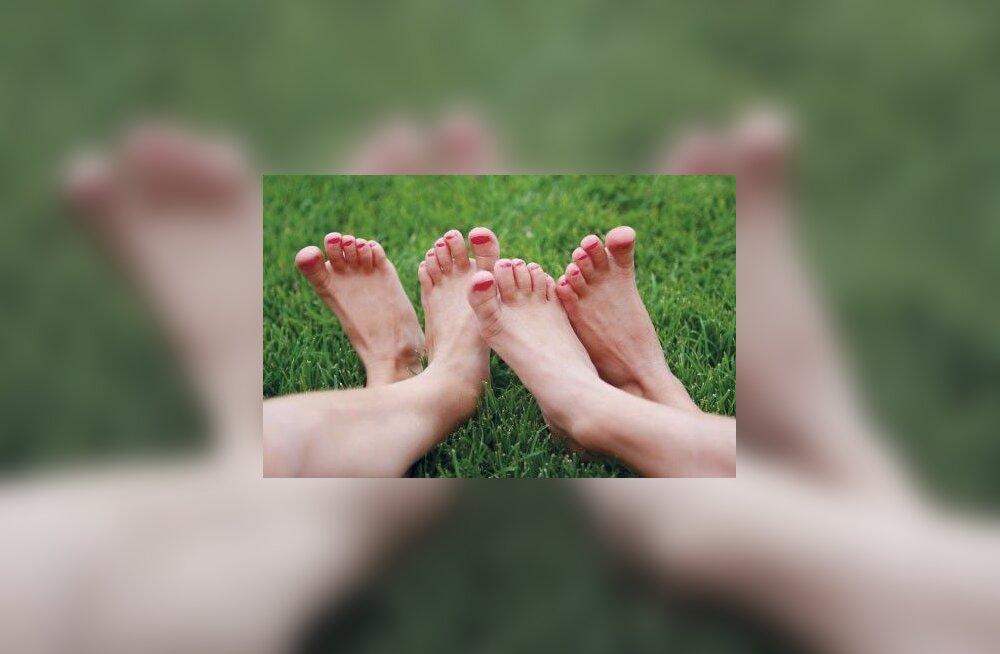 Jalad ootavad suvel hoolt