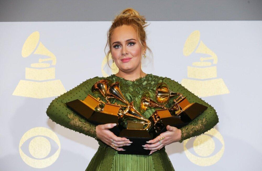 Adele Grammy auhindadel