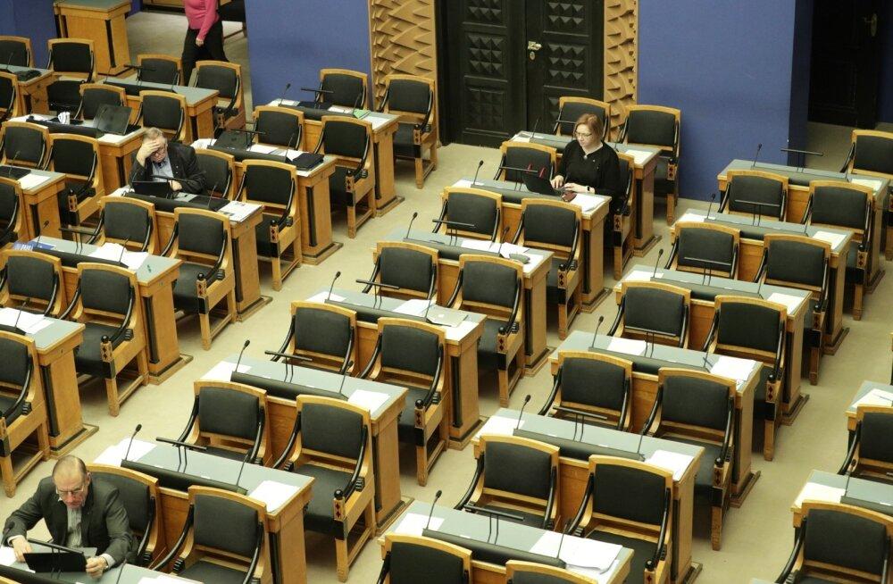 ТАБЛИЦА: Кто из депутатов в прошлом году ходил на заседания Рийгикогу чаще, а кто — реже всего