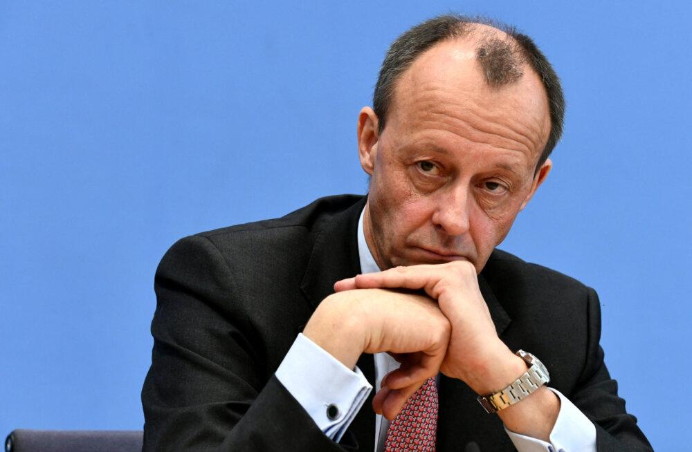 Koroonaviirusesse nakatus Saksamaa liidukantslerikandidaat Friedrich Merz