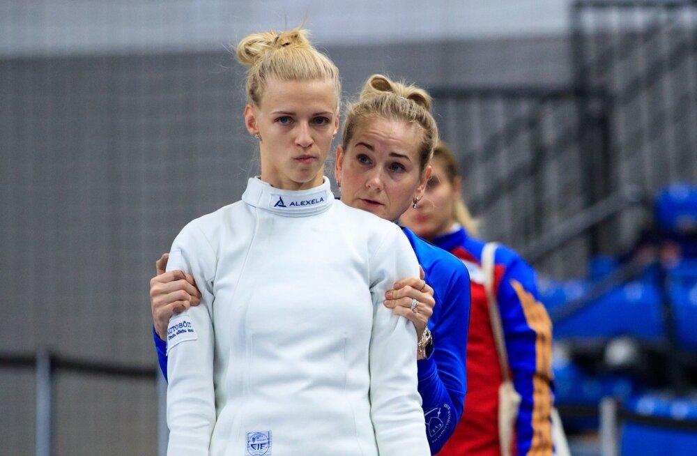 Kristina Kuusk ja Katrin Lehis