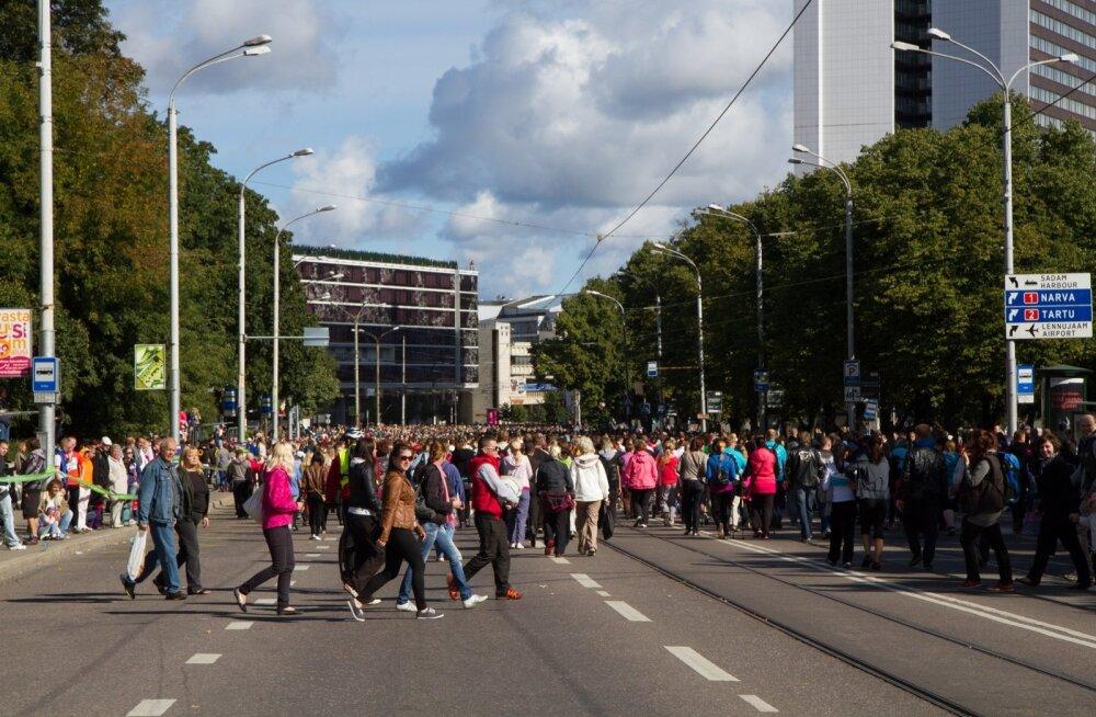 Tallinna maraton - rahvajooks