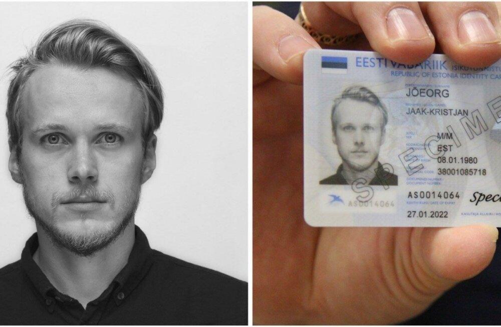 ID-kaardi uus nägu: modellina ma karjääri tegema ei hakka