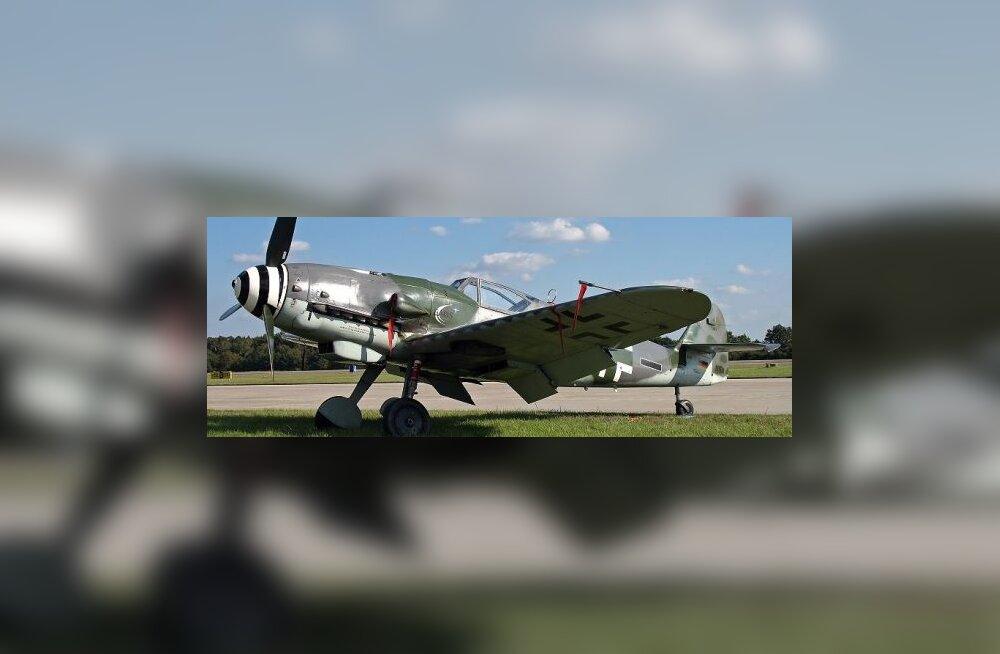 Kuidas Saksa õhuässa lennuk merest üles saada?