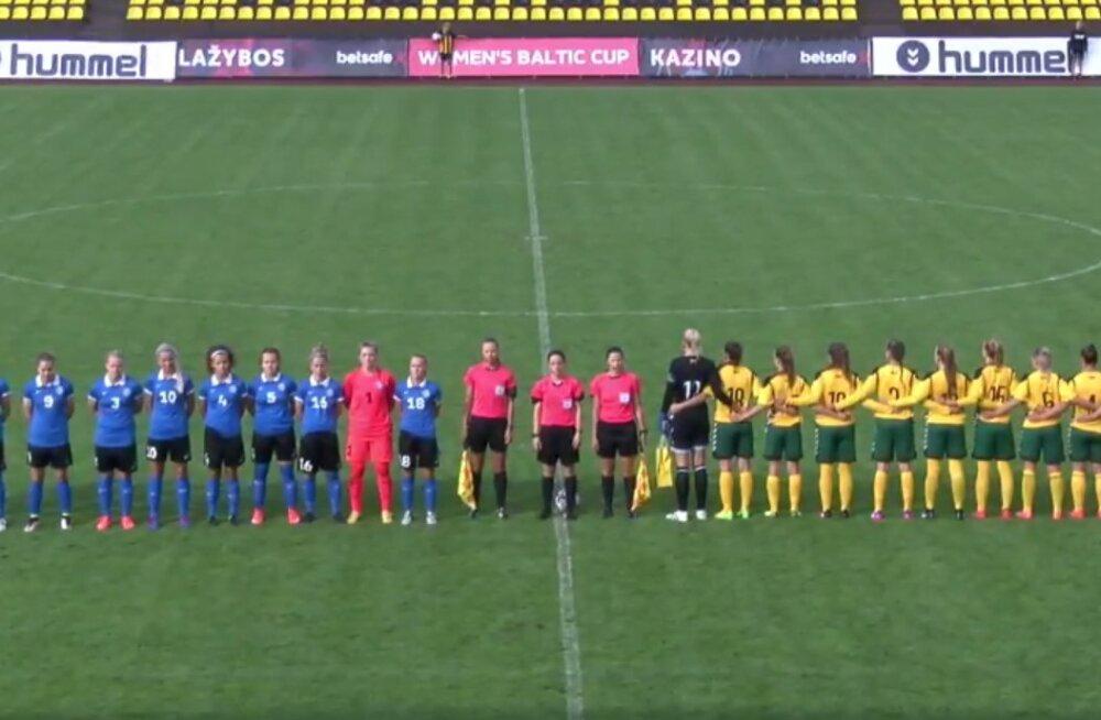 VIDEO | Strigini nullimäng tõi Eesti koondisele Balti turniiri alustuseks viigi