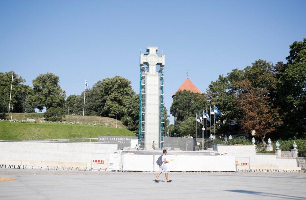 Vabadussõja võidusammas vajab taas mitmesaja tuhande euro eest remonti, Jaak Aaviksoo arvates sammast ümber tegema ei pea