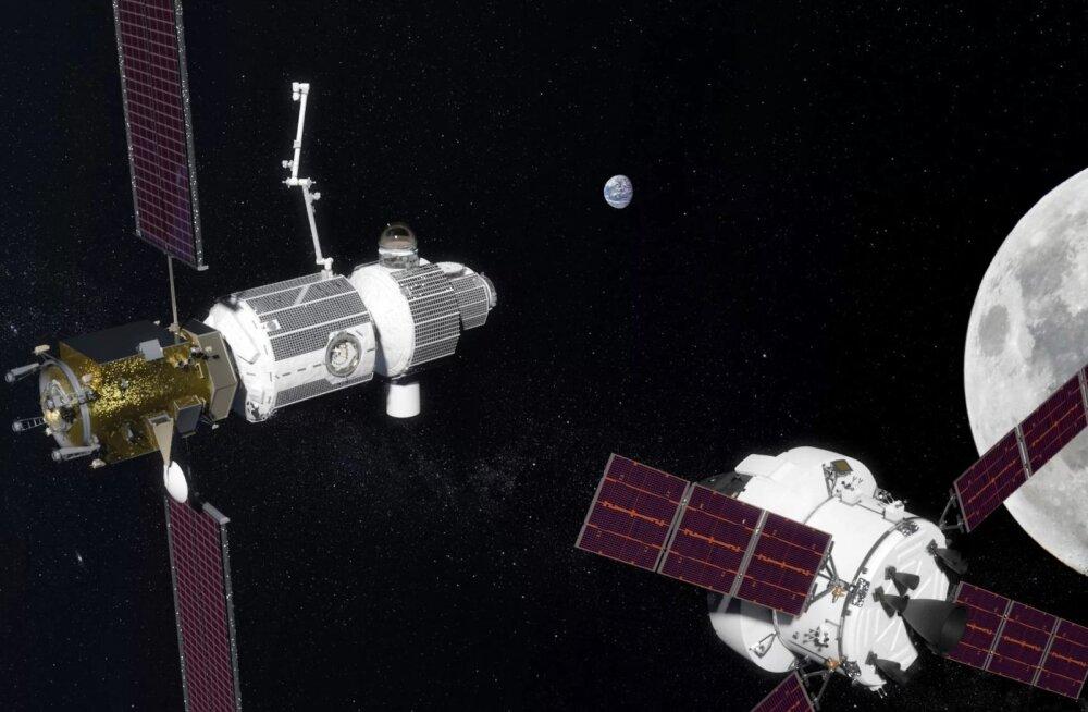 Trump tahab inimesed Kuule saata vähem kui 10 aasta jooksul, kuid hülgab selleks rahvusvahelise kosmosejaama