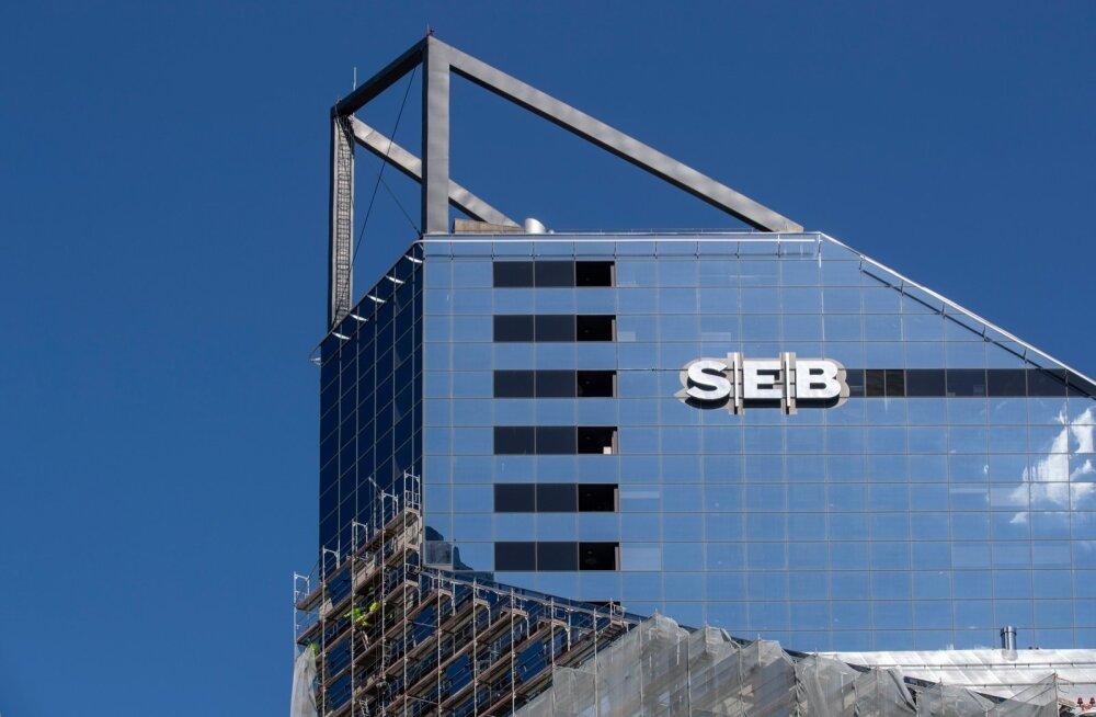 В скандале с возможным отмыванием денег в SEB замешаны 194 клиента. Большинство из Эстонии
