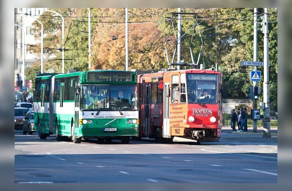 Bussi-, trammi- ja trollikoondis ühinesid