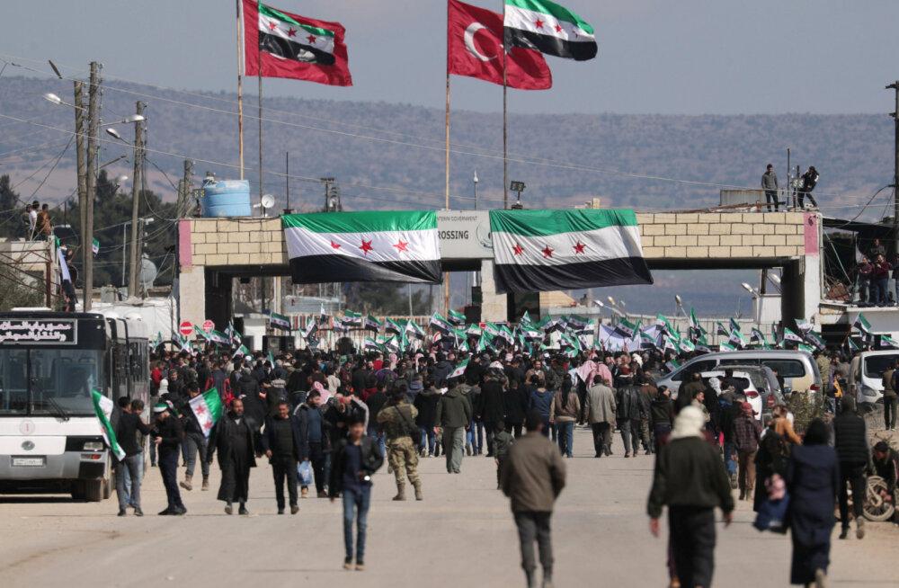 Türgi ametniku sõnul ei takista Türgi enam Süüria põgenike voolu Euroopasse