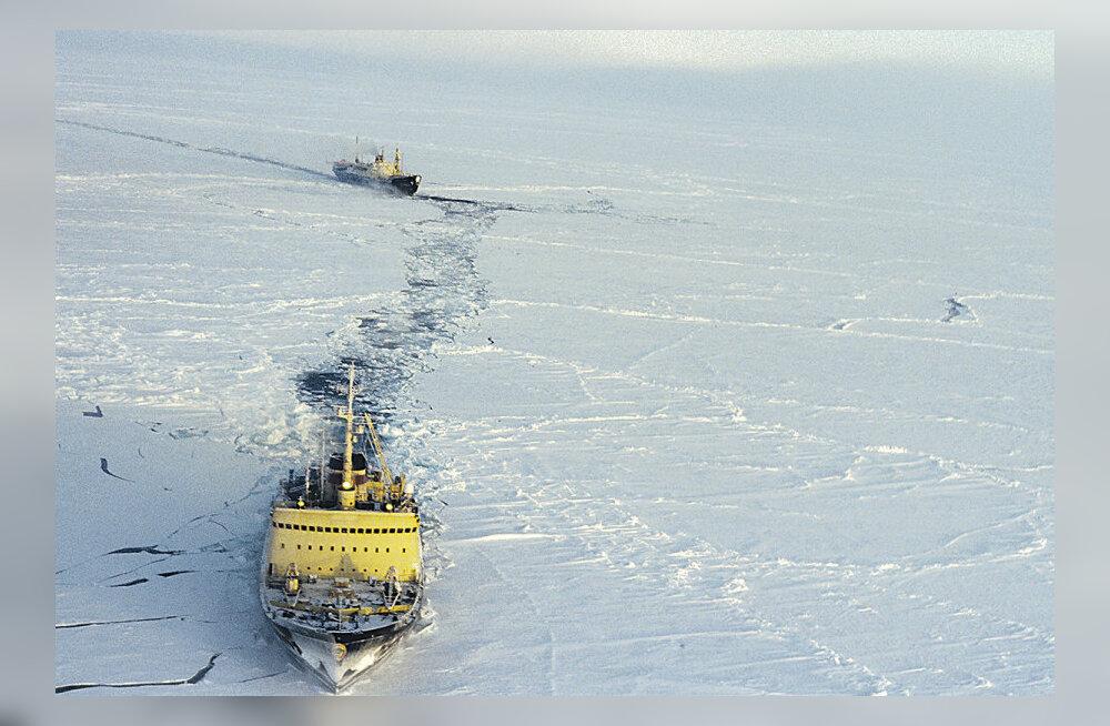 Algas üleilmne malemäng: Arktika sulamine avab uue meretee Hiinasse