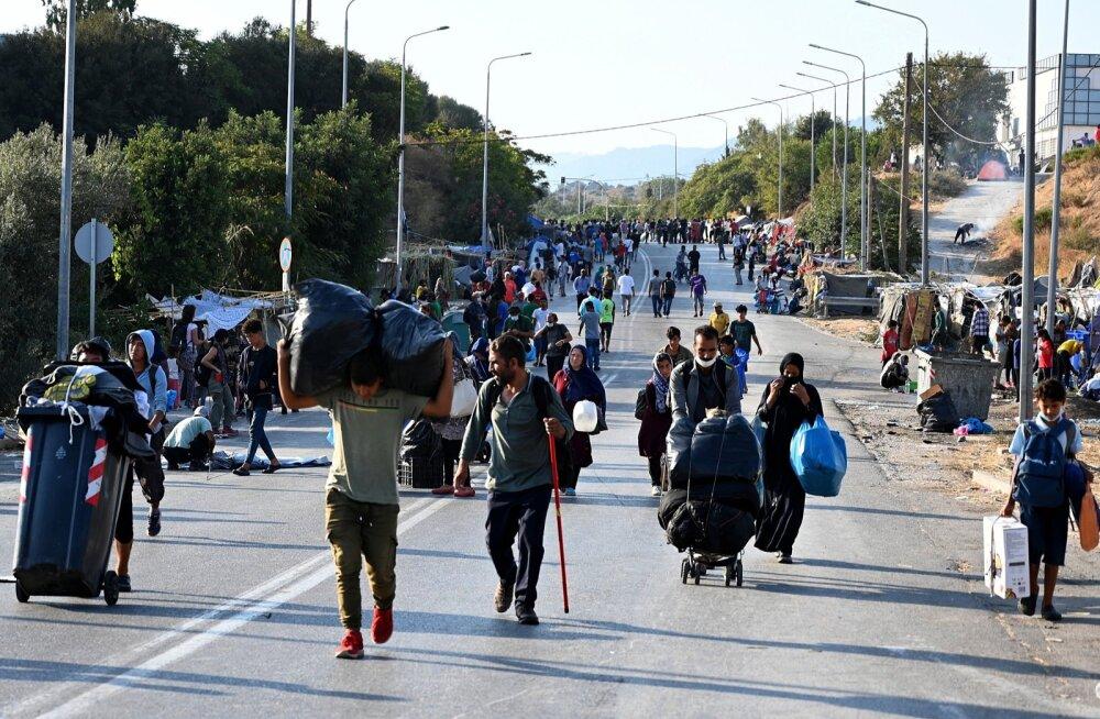 Varjupaigataotlejad Kreekas