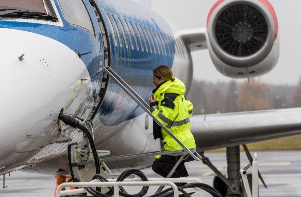 Lennuk tõrkus taas: Nordic Aviationi hommikune lend Trondheimi tühistati