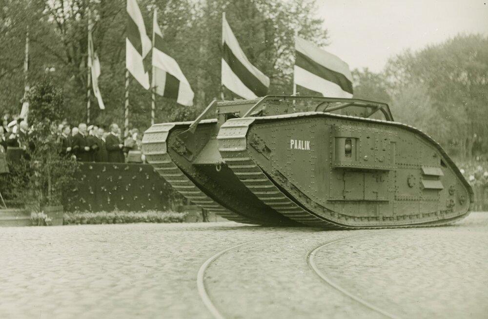 Eesti tankid ja tankid Eestis 1919–1941