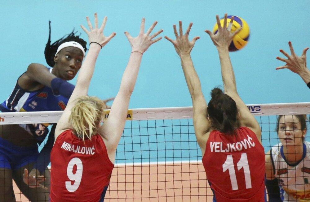 Naiste võrkpalli MM-i finaal Serbia - Itaalia