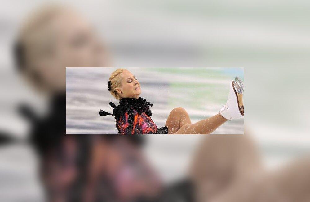Jelena Glebova kukkumine