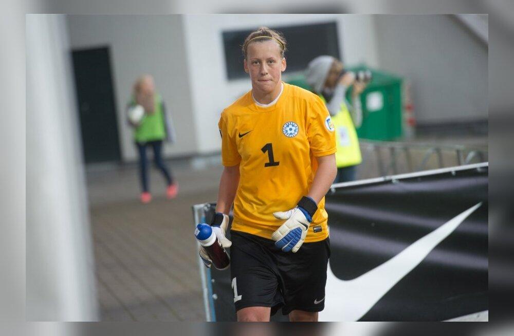 Naiste jalgpallikoondise värvavaht Getter Laar