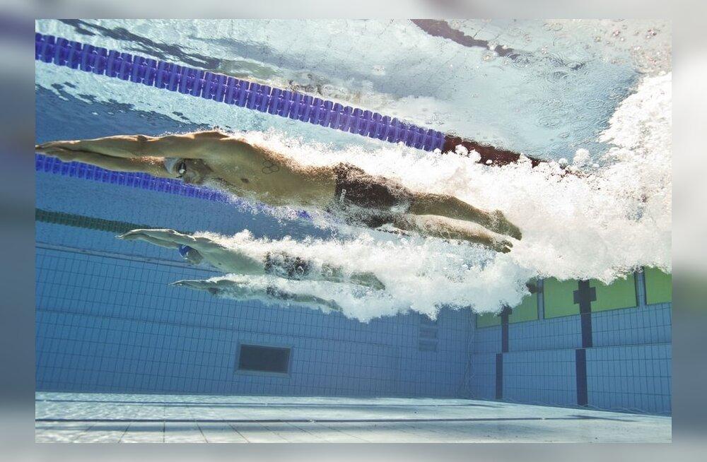 Eesti meistrivõistlustel ujumises on stardis kogu meie paremik