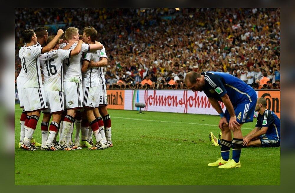 Jalgpalli MMi finaal Saksamaa-Argentina