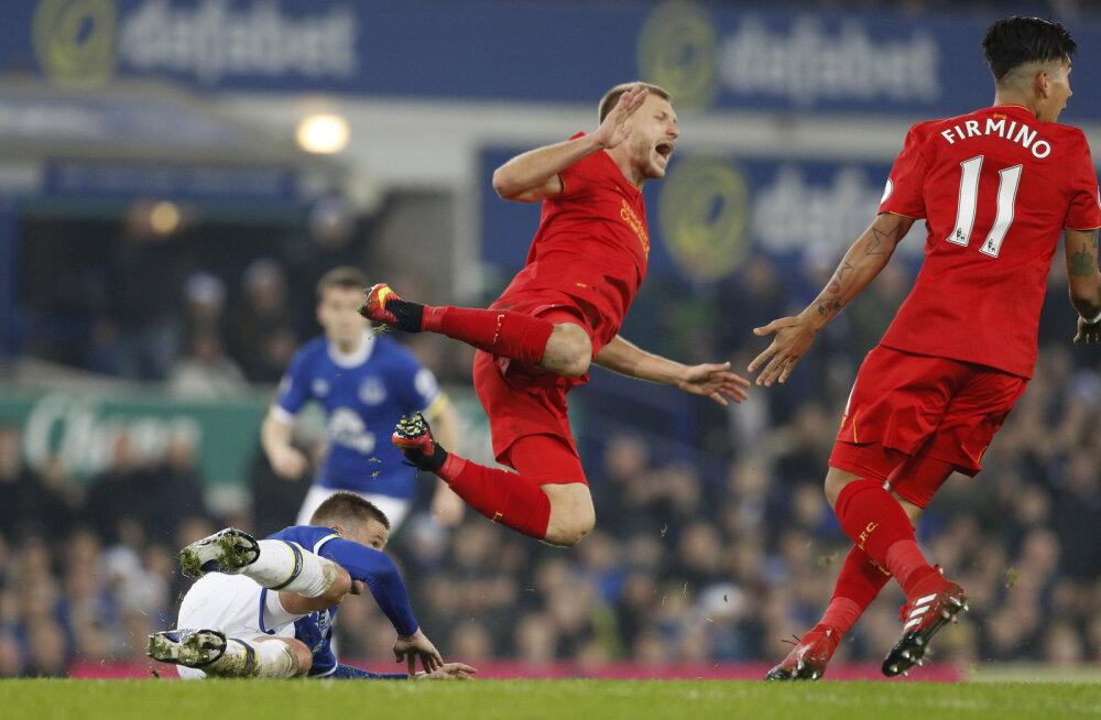 Ragnar Klavan mängus Evertoniga