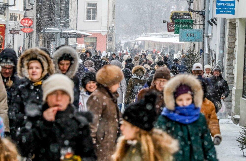Eriti meelitab Eestisse tulijaid Tallinna vanalinn.