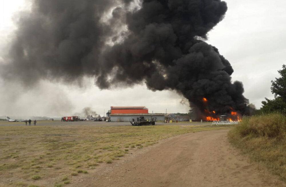 NBC: Keenias hukkus sõjaväebaasi rünnakus kolm ameeriklast