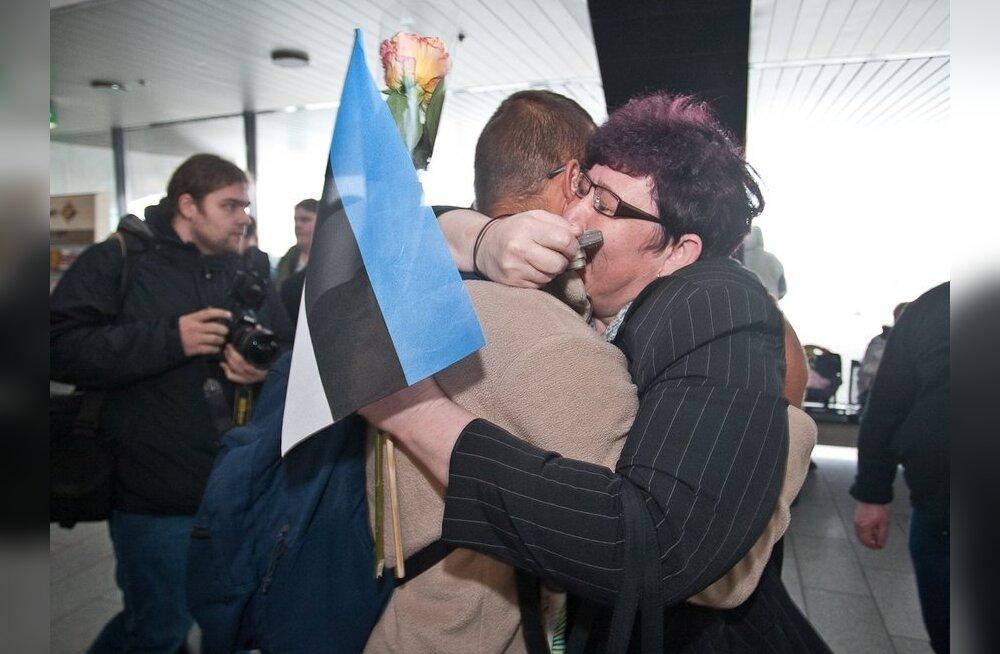 ФОТО: Борцы с пиратами вернулись домой