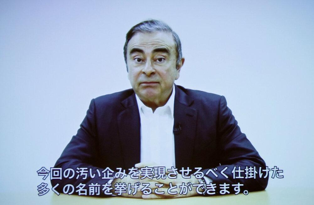 Türgis vahistati Nissani endise juhi Carlos Ghosni põgenemisega seoses seitse inimest
