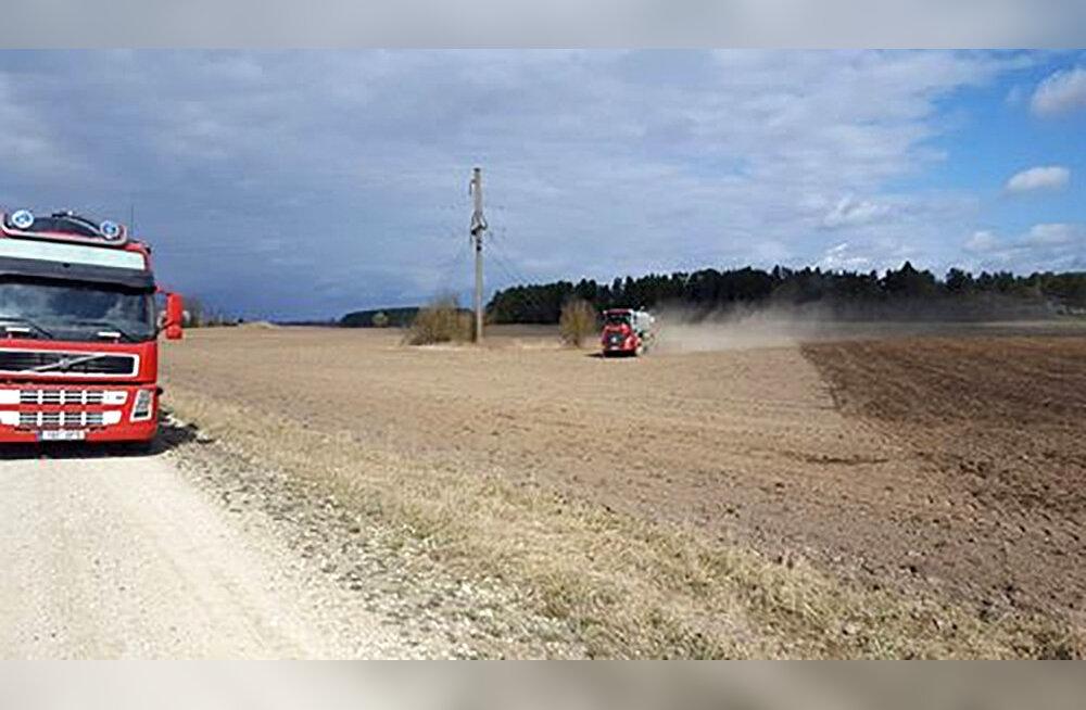Aasta põllumehe päevik | Hernest ja uba me ei külva, küll aga rapsi ja maisi