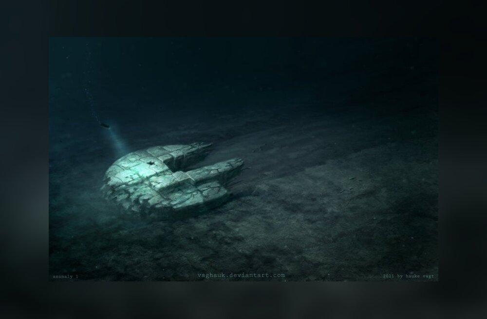 Раскрыта тайна подводного НЛО в Балтийском море