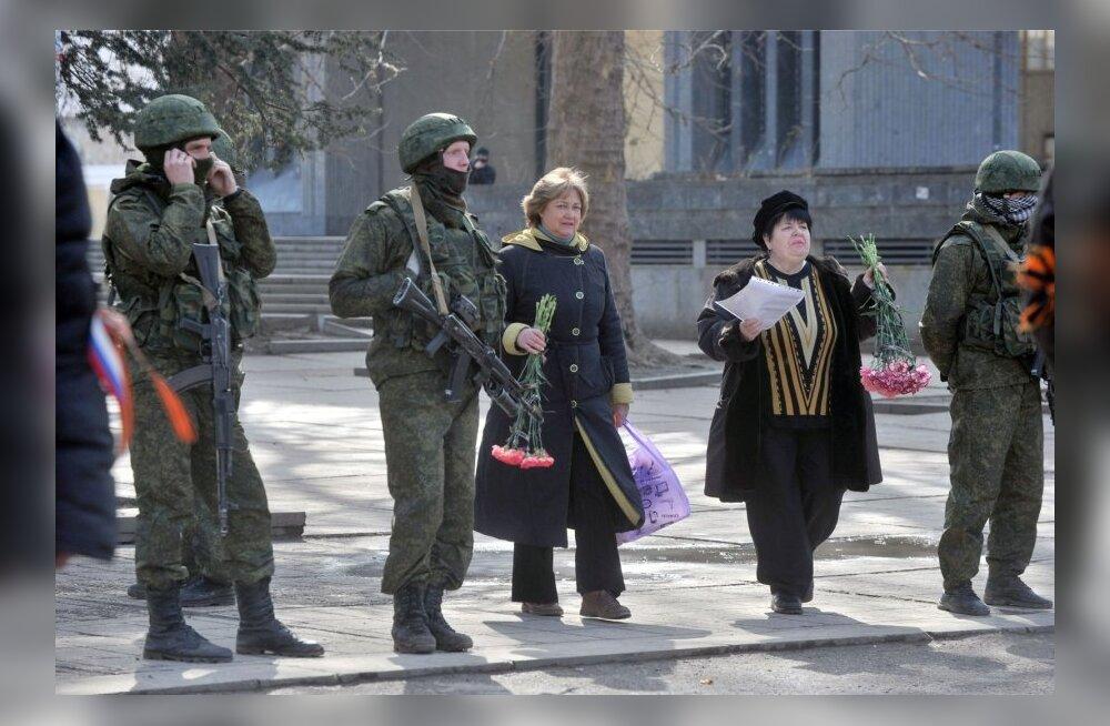 Tänav Simferoopolis 1. märtsil