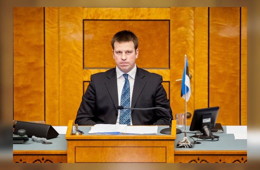 Jüri Ratas Yana Toomist: Eesti õigus ei näe ette riigikogu liikme tagasi kutsumist