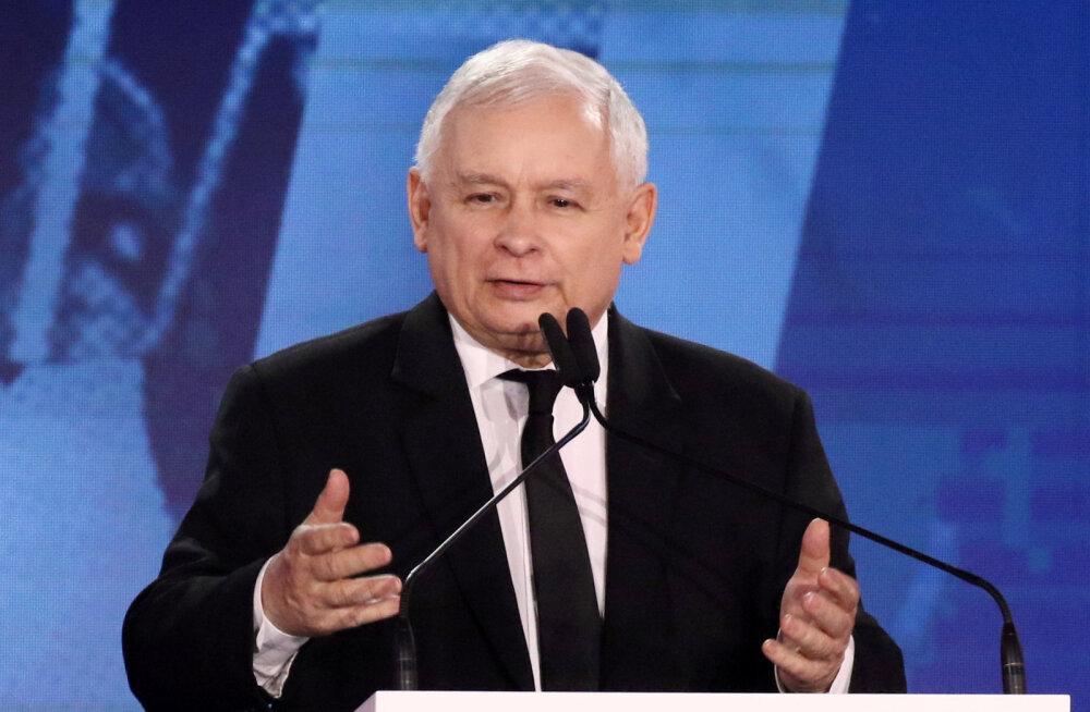 Poola võimupartei juhil Jarosław Kaczyńskil on tõsised tervisehädad, spekuleeritakse mantlipärija üle