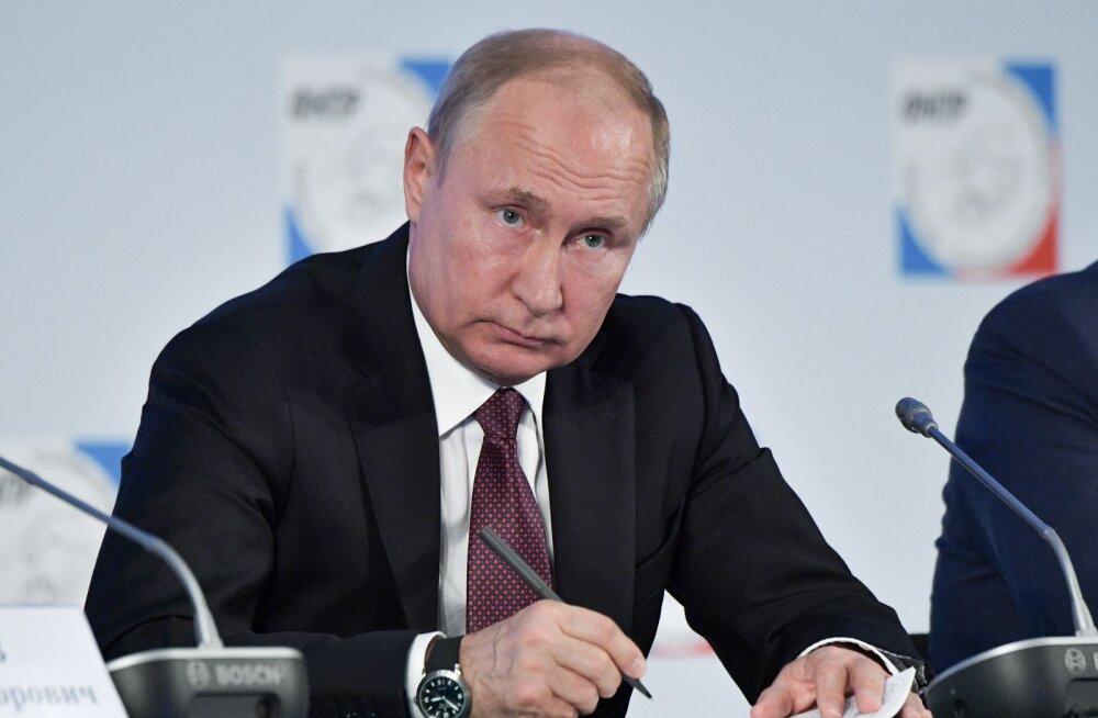 Kinnine uuring: Putini toetus on kõige madalam Magadani oblastis – 36%