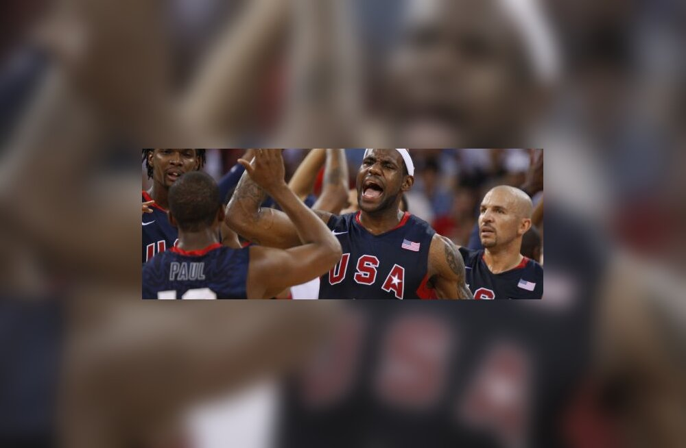 Lebron James, Chris Paul, Chris Bosh ja Jason Kidd (USA korvpall)