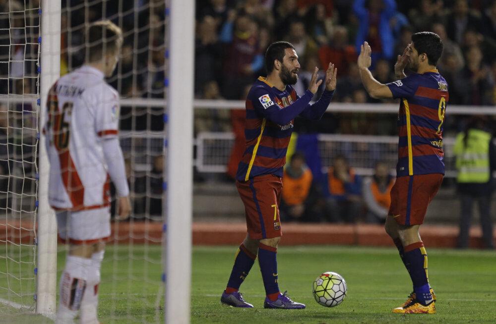 5:1 võidu võtnud Barcelona ületas Madridi Reali uhke rekordi
