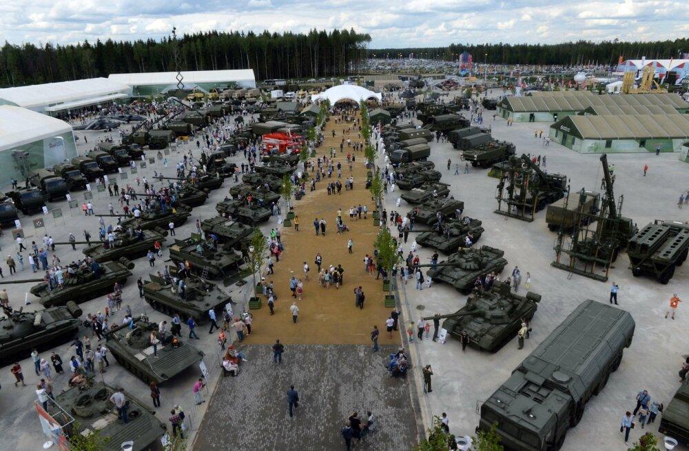 Venemaa ehitab aktiivselt sõjamasinat: kaitsekulutused olid mullu 60 miljardit eurot