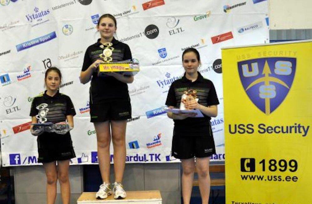 16-летняя чемпионка Эстонии по настольному теннису: надо научиться извлекать уроки из всех своих поражений