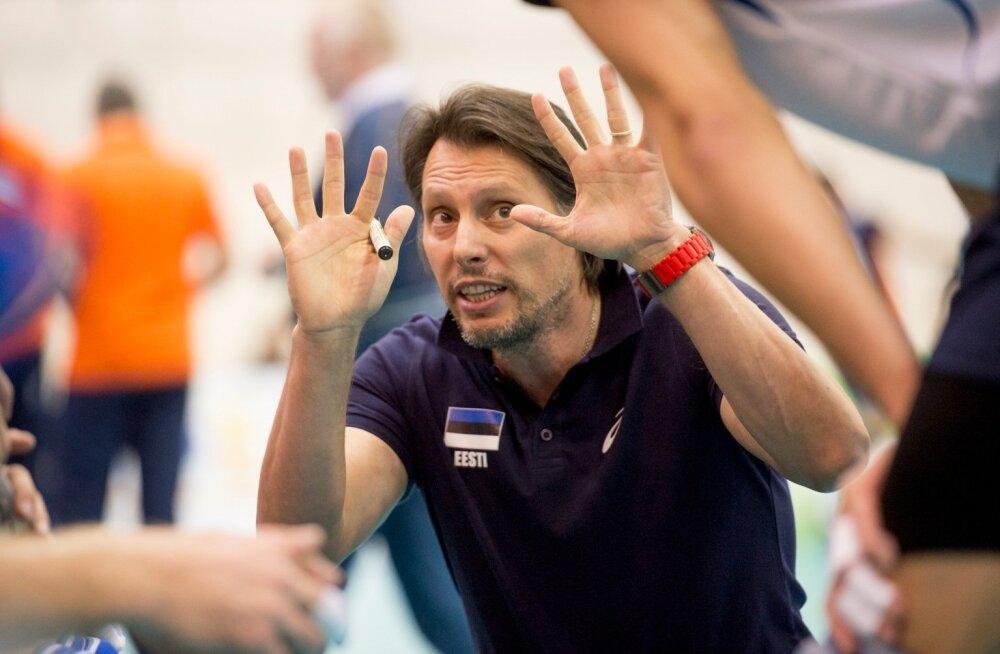 Gheorghe Crețu jätkamine võrkpallikoondise eesotsas muutus eile tunduvalt tõenäolisemaks.
