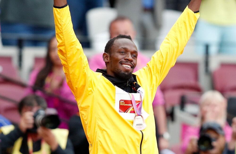 Kui suure summa teenis Usain Bolt kuulsusrikka kergejõustikukarjääri jooksul?