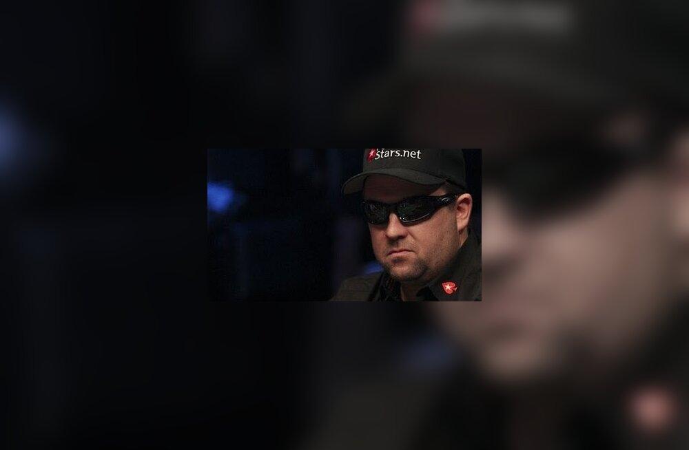 Pokkerikangelane Chris Moneymaker läheb maailmaturneele