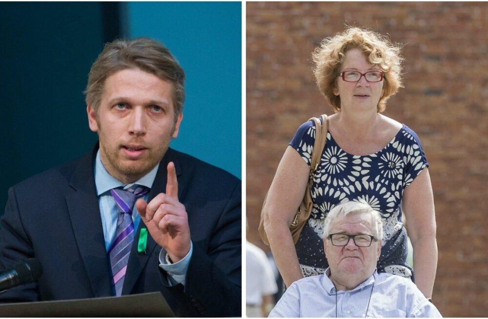 Jaanus Karilaid, Yana Toom ja Edgar Savisaar