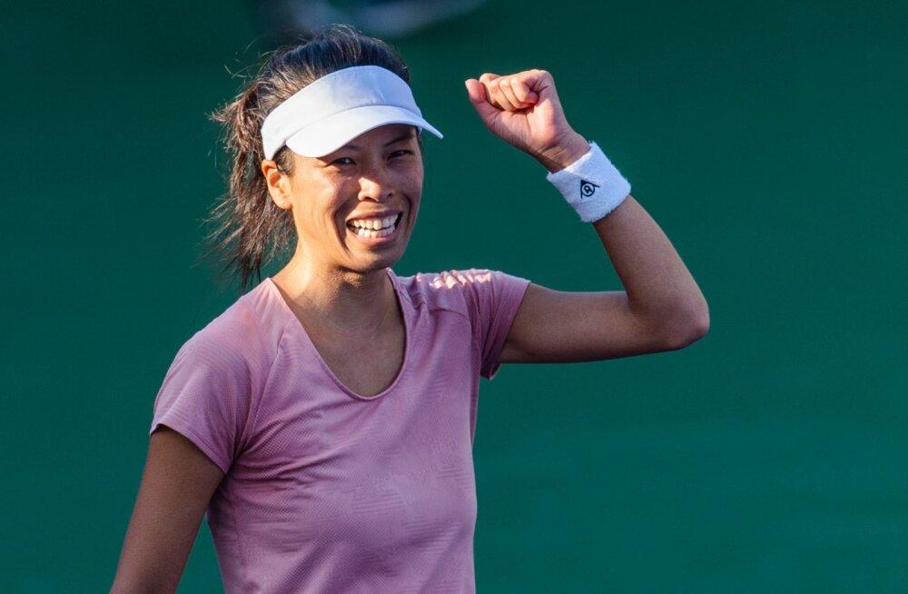Taiwani tennisist teeb Dubais head turniiri: veerandfinaalis langes Kerber, poolfinaalis Pliškova