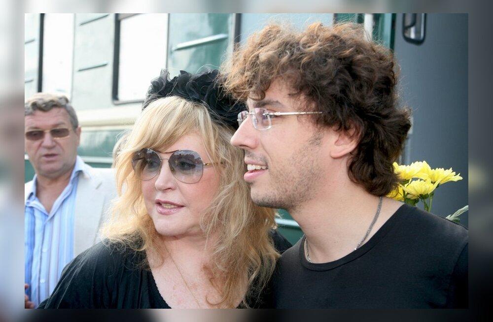Alla Pugatšova ja Maksim Galkin