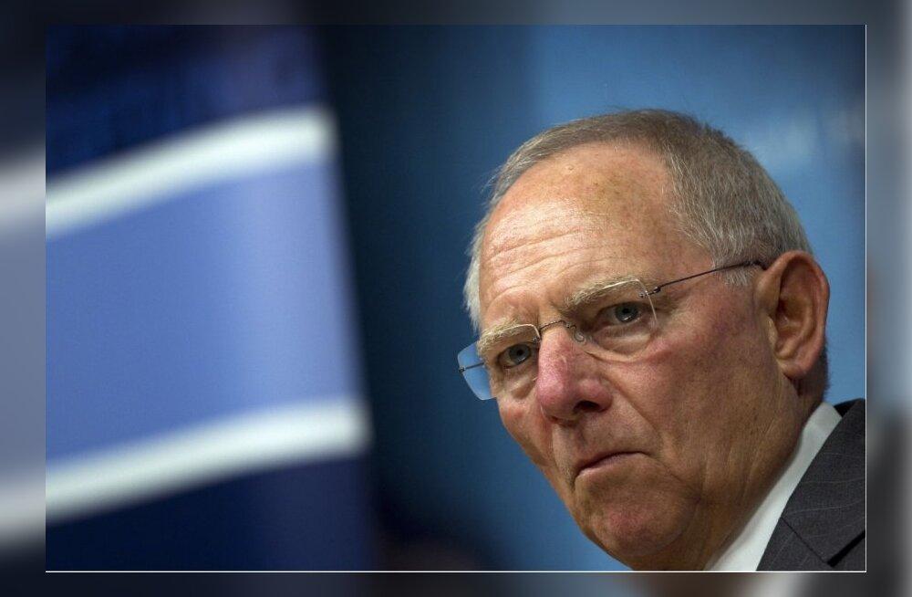 Financial Times valis aasta parimaks rahandusministriks Wolfgang Schäuble