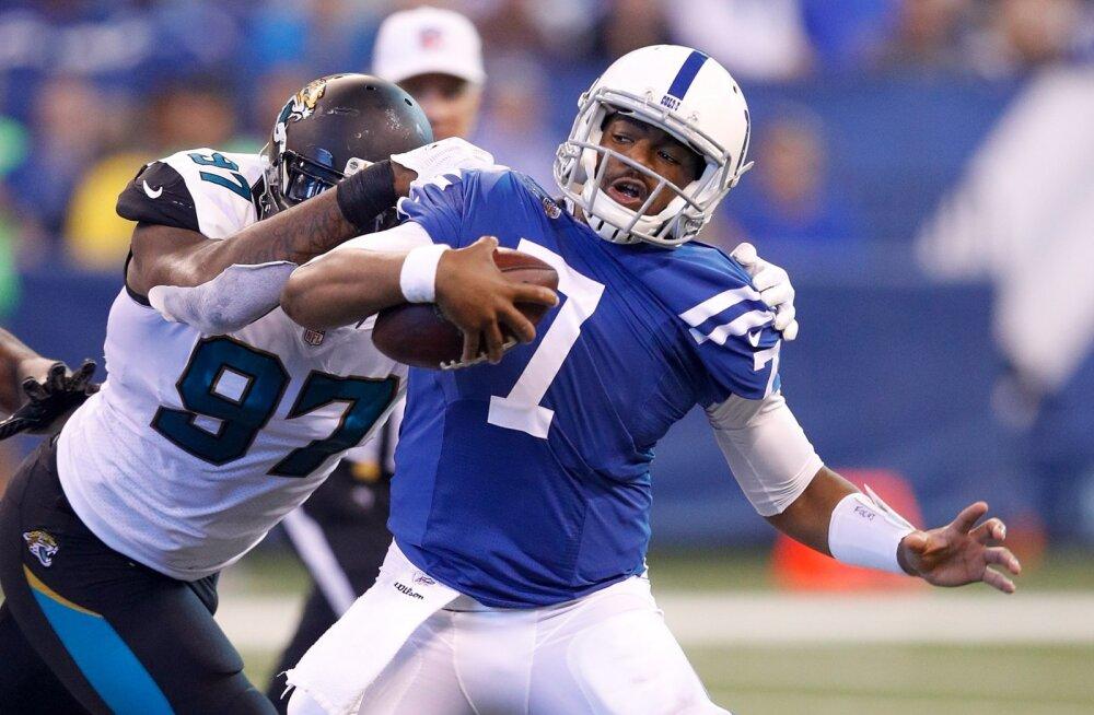 Hundi koduklubi Indianapolis Colts sai kõrvulukustava ketuka